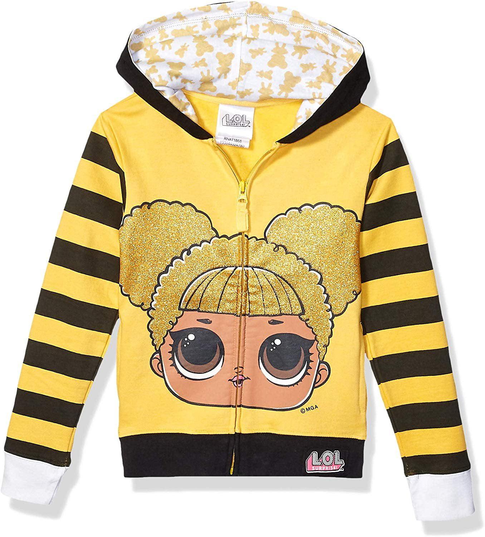 Kids Lol Sunscreen Coat Jacket Surprise Dolls Cover Up Hooded Cardigans Overcoat