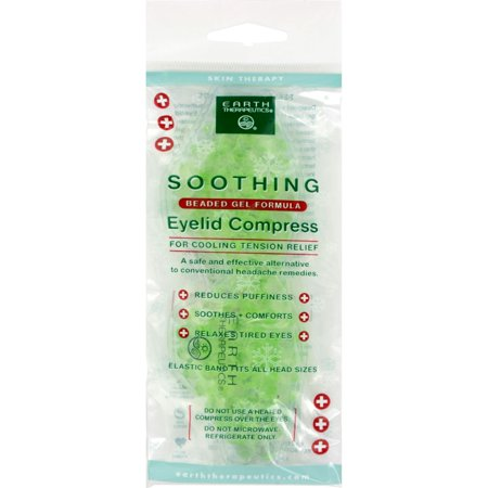 Earth Therapeutics Soothing Eyelid Compress   1 Unit