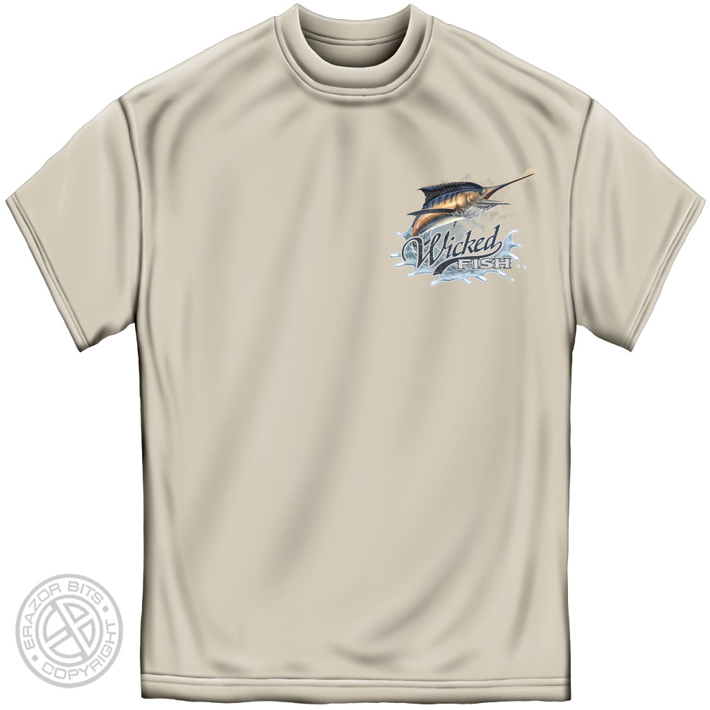Cotton Wicked Fish Marlin T-Shirt