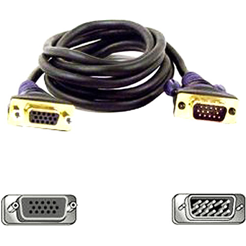 Belkin F2N025-10-GLD Gold Series VGA Monitor Extension Cable