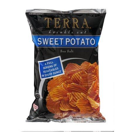 Terra Vegetable Chips Sweet Potato With Sea Salt  6 0 Oz