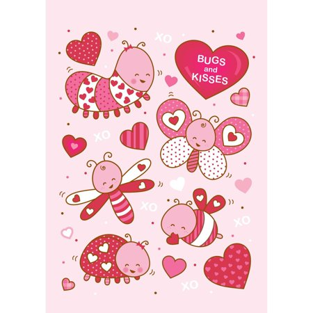 Bugs And Kisses (Bugs and Kisses House Flag)