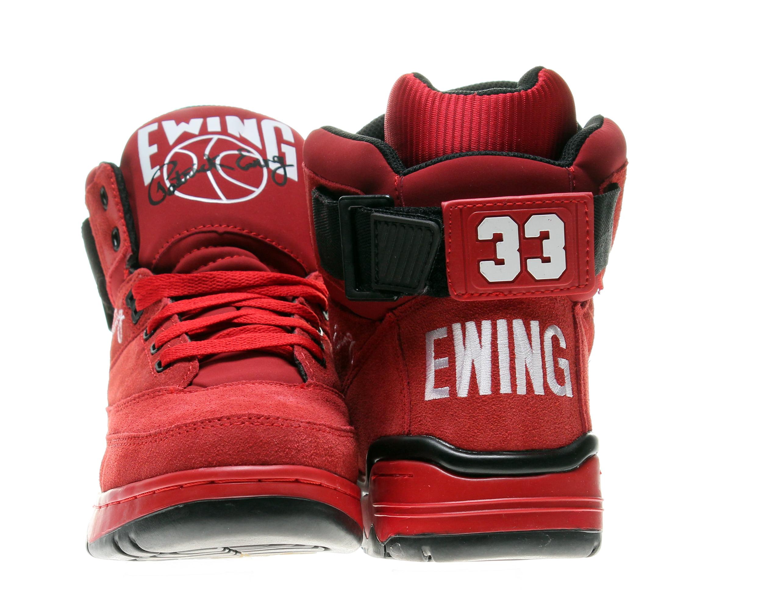 41ea153c1d6 Ewing Athletics - Ewing Athletics 33 Hi Red Black Men s Basketball Shoes  1EW90013-601 - Walmart.com