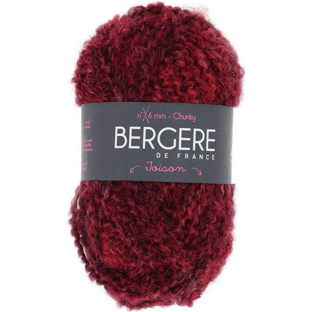 - Bergere De France Toison Yarn-Chine Rouge