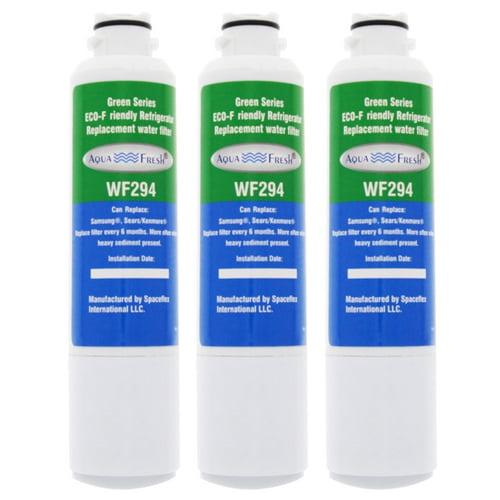 3 Pack Aqua Fresh Replacement Water Filter for Samsung RSG307AARS XAA Refrigerators AquaFresh by Aqua Fresh