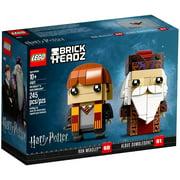 Harry Potter Brick Headz Albus Dumbledore & Ron Weasley Set LEGO 41621