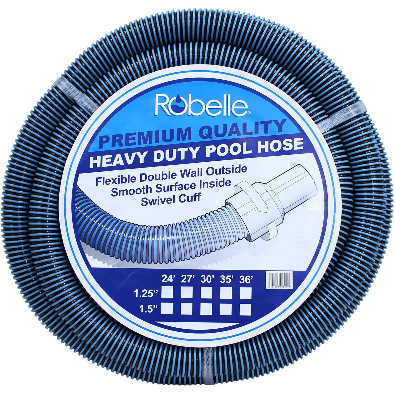 """Robelle Premium 21' x 1-1/4"""" Swimming Pool Vacuum Hose"""