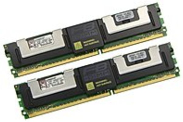 Kingston KTD-WS667/1G 1GB DDR2 SDRAM Memory Module - 1GB (2 x (Refurbished)