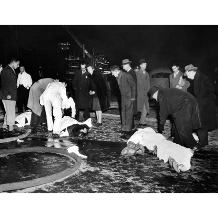 Coconut Grove Nightclub Fire Four Bodies Covered With Sheets In The Street Waiting Transport To BostonS Overwhelmed Morgues Nov 29 History - Stage Nightclub Boston Halloween