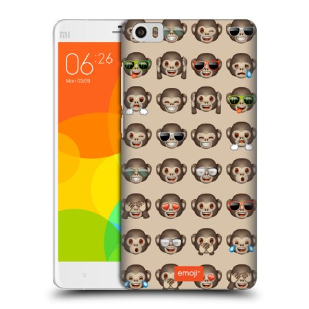 OFFICIAL EMOJI PATTERNS 3 HARD BACK CASE FOR XIAOMI PHONES