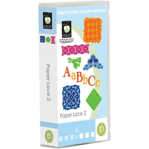 Cricut Paper Lace 2 Cartridge