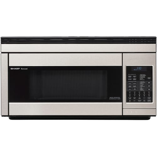 "Sharp R1874T 30"" Wide 1.1 Cu. Ft. Over-the-Range Microwave with Convection Cooking"