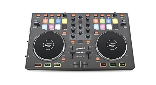 Gemini SLATE 2-Channel Slim Virtual DJ Controller by Gemini