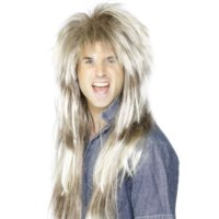 80's Mullet Adult Costume Wig