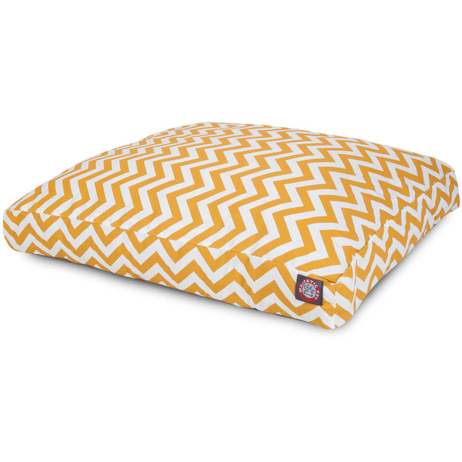 Chevron Small Rectangle Outdoor/Indoor Dog Bed