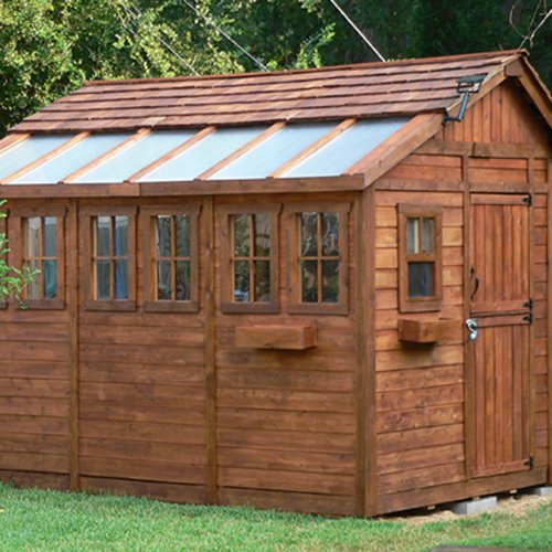 Outdoor Living Today SSGS812 Sunshed 8 x 12 ft. Garden Shed