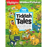 Ticklish Tales : Solve the Hidden Pictures® puzzles and fill in the silly stories with stickers!