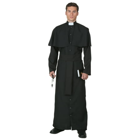 Plus Size Deluxe Priest Costume - image 1 of 1