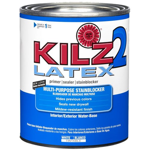 KILZ 2 1-qt. Latex Interior/Exterior Primer - New Look, Same Trusted Formula
