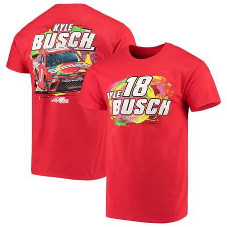 Joe Gibbs Racing Gear (Kyle Busch Joe Gibbs Racing Team Collection Skittles Driver T-Shirt - Red)