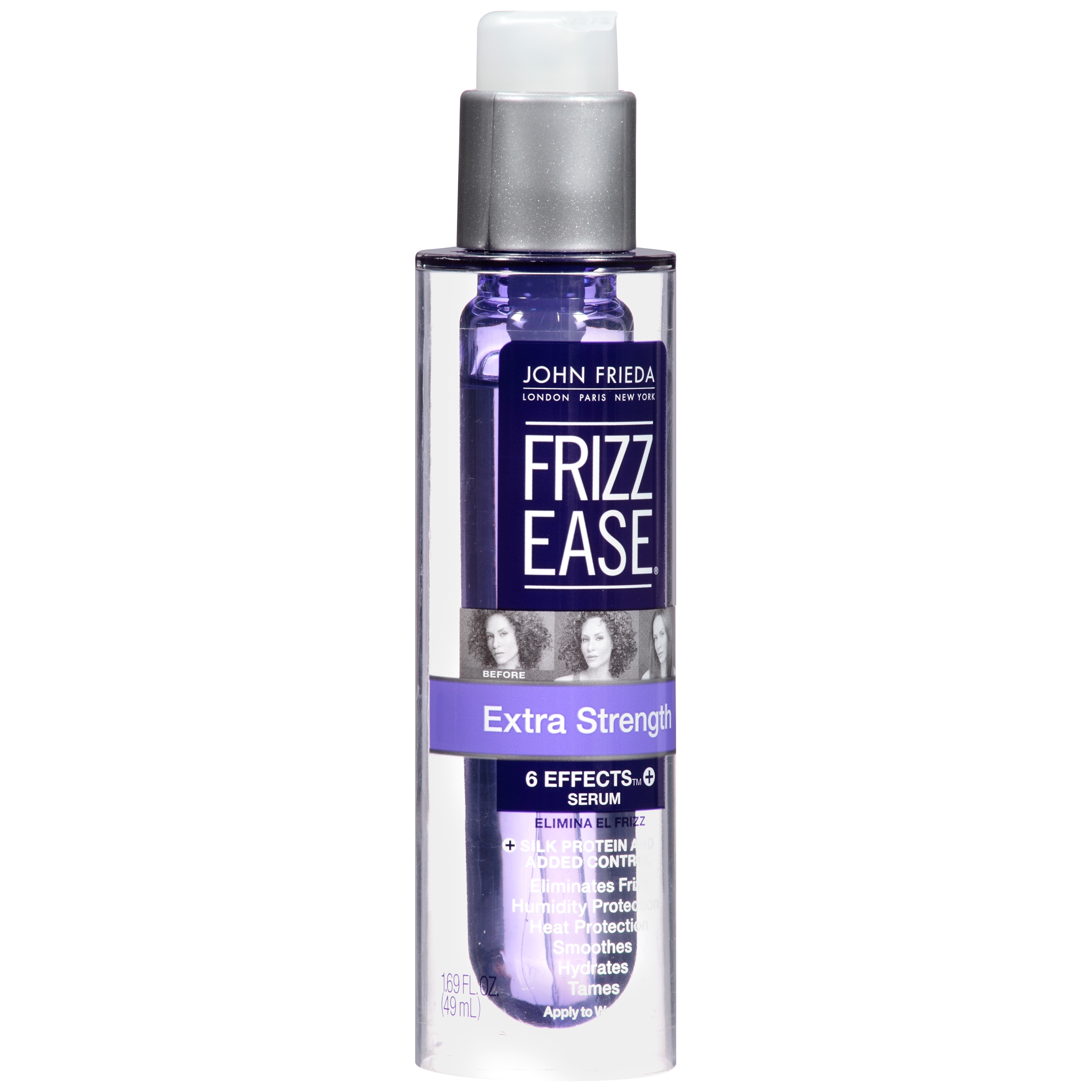 John Frieda Frizz Ease Extra Strength Effects Serum, 1.69 FL OZ