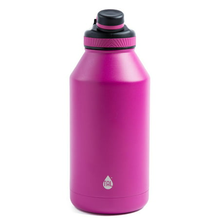 b13fd7c45b TAL Pink 64oz Double Wall Vacuum Insulated Stainless Steel Ranger Pro Water  Bottle - Walmart.com