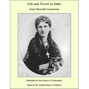 Life and Travel in India - eBook