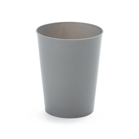 9oz Plastic Tumbler Cups, Stackable Water Cup, Graphite Tumblers (Set of 25 Cups) 9 Ounces ()