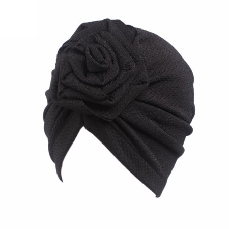 Hat Scarf Wrap - Outtop Children Baby Girls Boho Hat Beanie Scarf Turban Head Wrap Cap