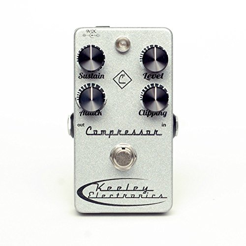 Keeley 4 Knob Compressor Pedal Brand New Made in USA