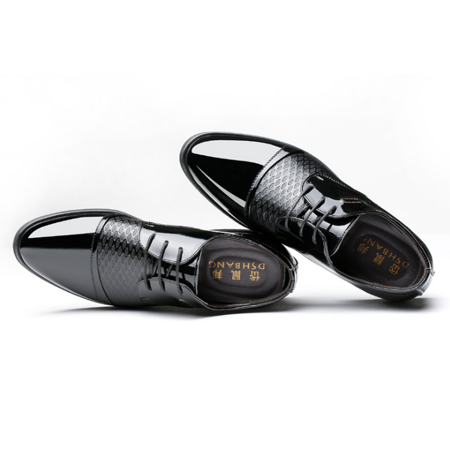 0f5bb041ba71 meigar - Men Business Wingtip Oxfords Dress Formal Brogue Lace Up Casual  Leather Shoes - Walmart.com