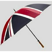 Great British Golf Umbrella Union Flag (Union Jack) Design.