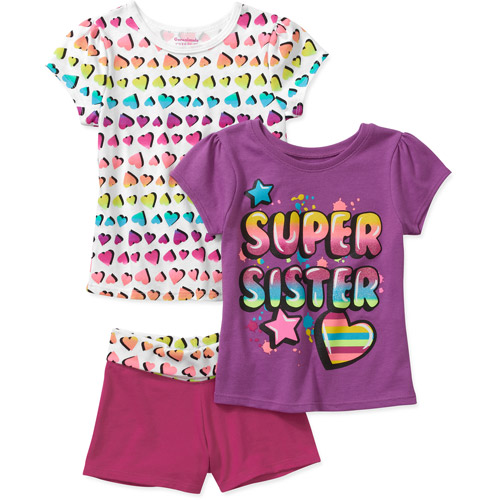 Garanimals Garanimlas Baby Girls' 3-piece Graphicte