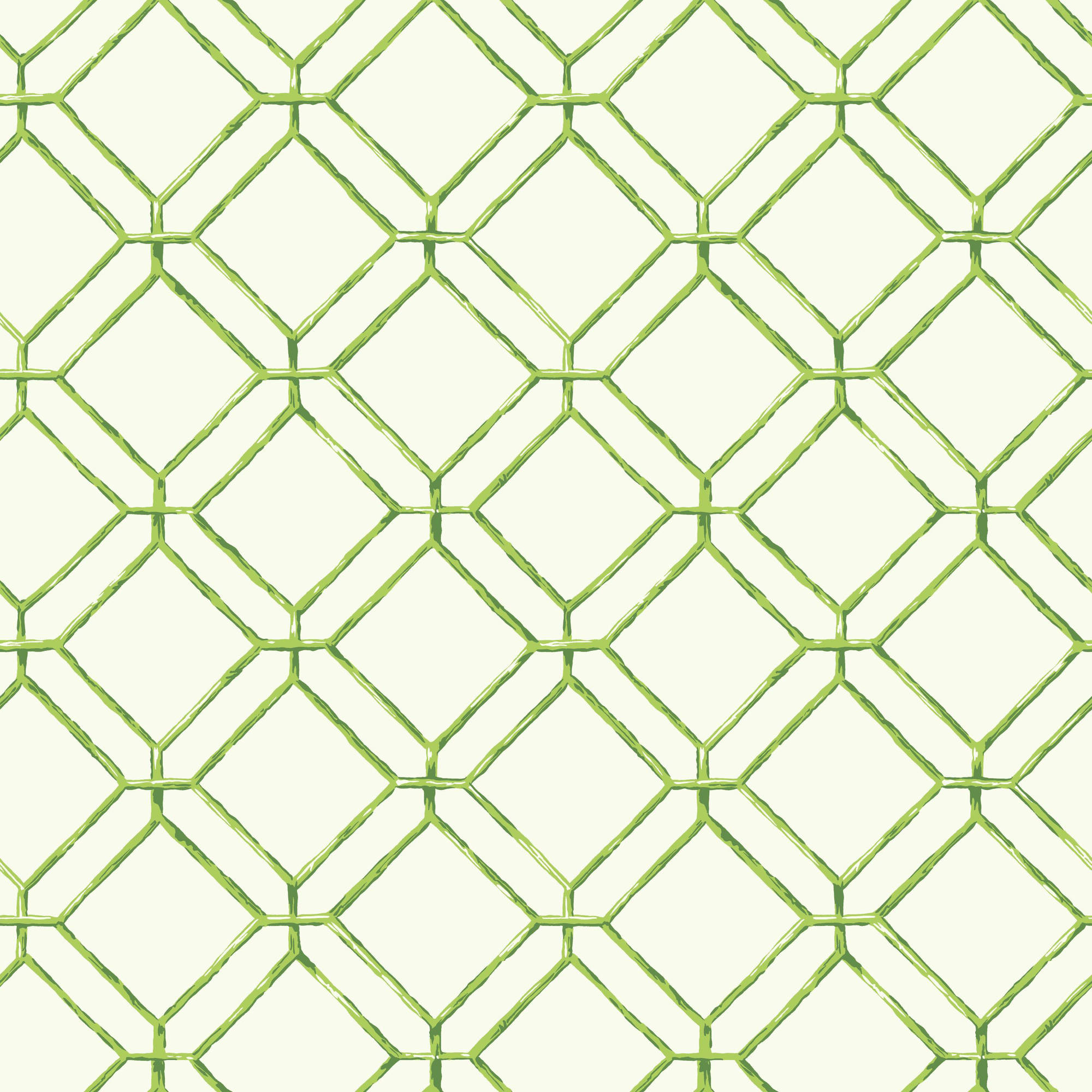 Tropics Diamond Bamboo Wallpaper