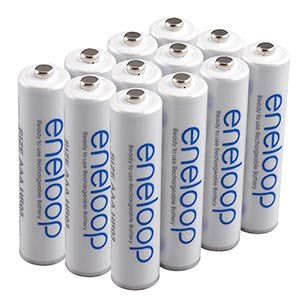 eneloop (3rd gen) AAA 1800 cycle, Ni-MH Pre-Charged Rechargeable Batteries, 12 Pack (discontinued by manufacturer)