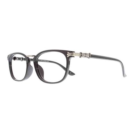 227bc1835a8 Ebe Reading Glasses Mens Womens Retro Black Round Horn Rimmed Reading  Glasses Anti Glare grade ckbtr9056 - Walmart.com