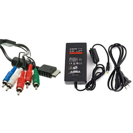 Sony PlayStation PS2 Slim Power And Component Cable Kit (Power Cable Kit)