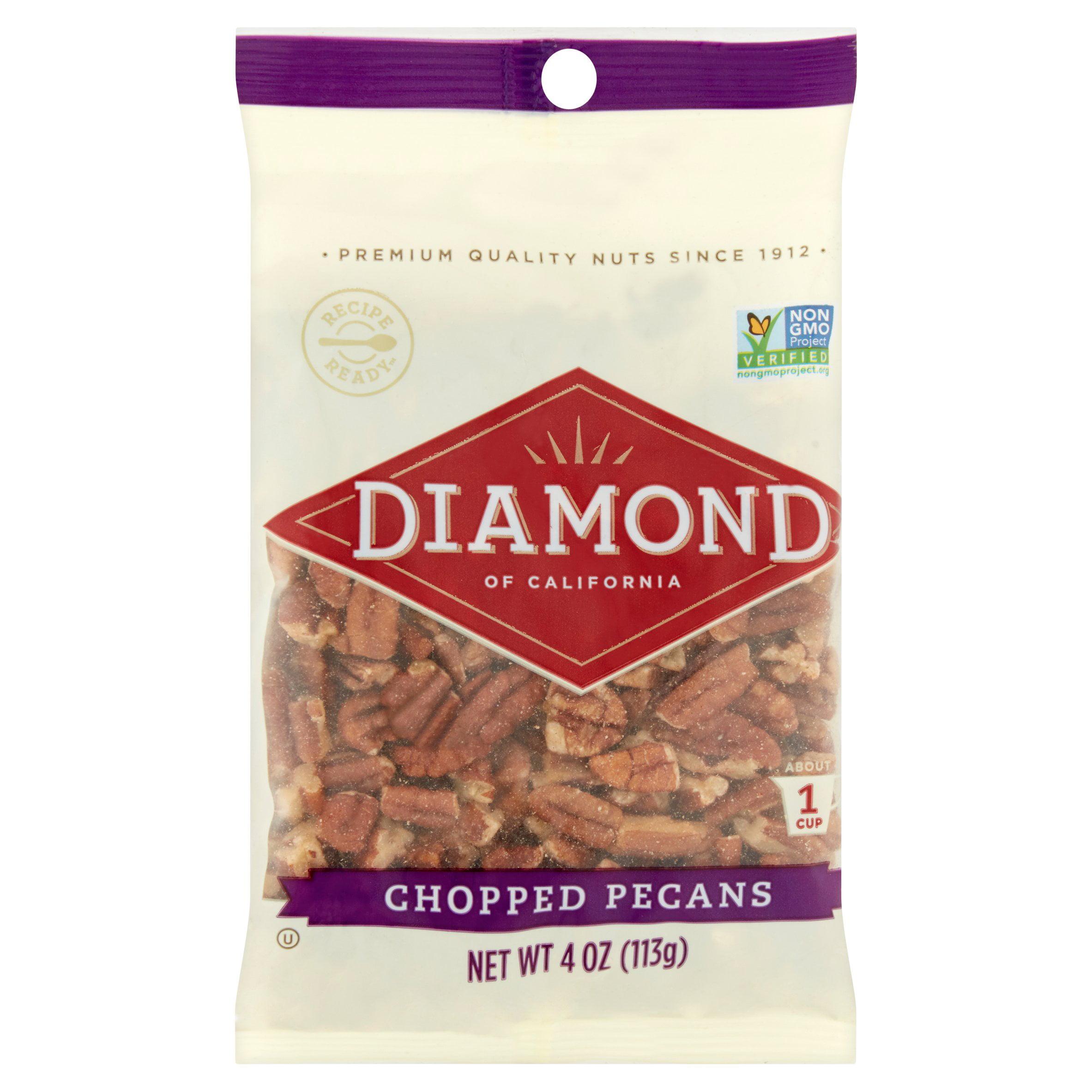 Diamond Of California: Chopped Pecans, 4 oz by Diamond Foods, Inc.