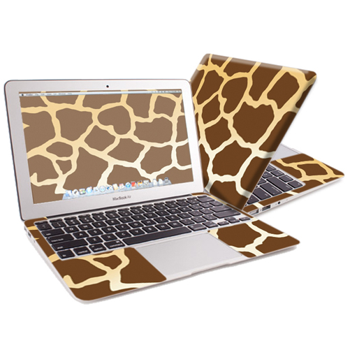 "Mightyskins Protective Skin Decal Cover for Apple MacBook Air 13"" (2010-2017 Model) with 13.3 inch screen wrap sticker skins Giraffe"