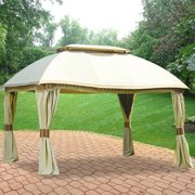 Garden Winds Replacement Canopy Top for Domed Gazebo - Riplock 350