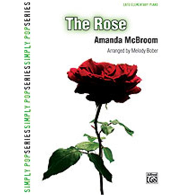 Alfred 00-28017 The Rose - Music Book