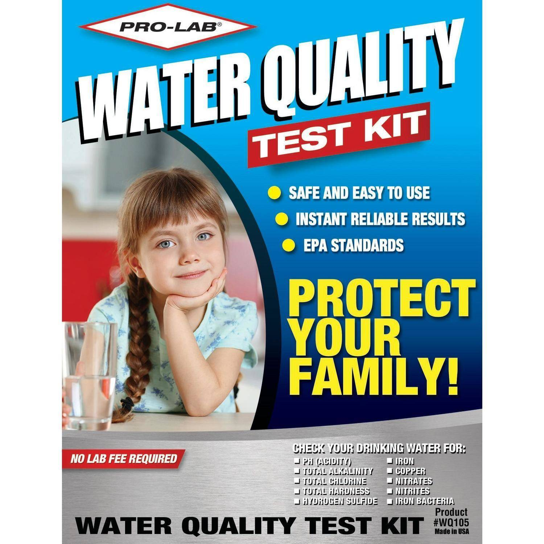 PRO-LAB Water Quality Test Kit