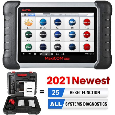 Autel MK808 OBD2 Scanner Car Diagnostic Scan Tool with All System Diagnosis 25 Services Functions