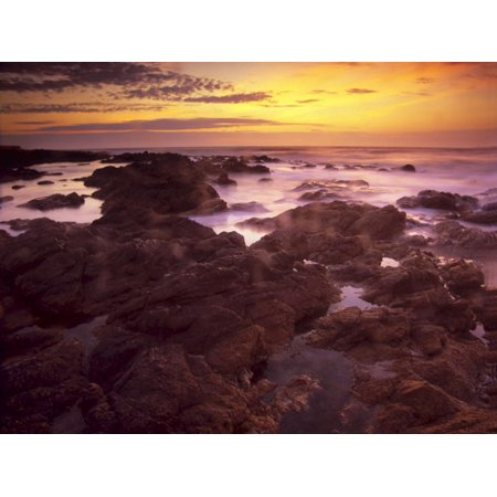 Manos Del Uruguay Cotton (Sunrise over South Atlantic, Punta Del Este, Uruguay Print Wall Art By Jerry Ginsberg )
