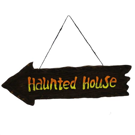 Halloween HALLOWEEN WALL HANGING SIGN Styrofoam 9712372 HOUSE - Quilted Halloween Wall Hangings