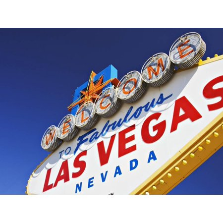 Welcome to Las Vegas Sign Print Wall Art By William (Best Las Vegas Weddings)