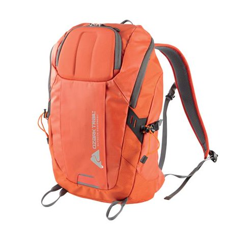Single Pole Rolling Backpack - Ozark Trail 35L Silverthrone Hydration-Compatible Backpack