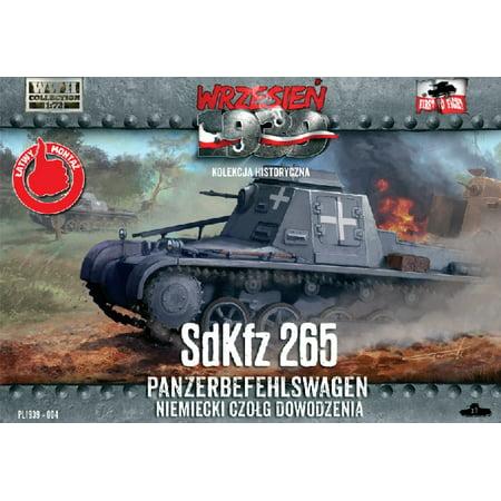 1/72 SdKfz 265 Panzerbefehlswagen German Command Tank - image 1 de 1