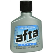 Afta Aftershave Lotion and Skin Conditioner, Fresh Scent, 3 fl oz