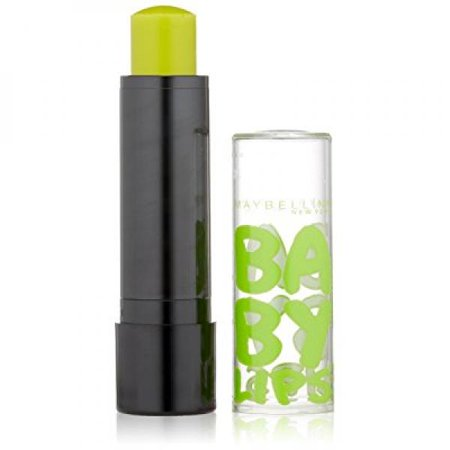 maybelline new york baby lips balm electro, minty sheer, 0.15